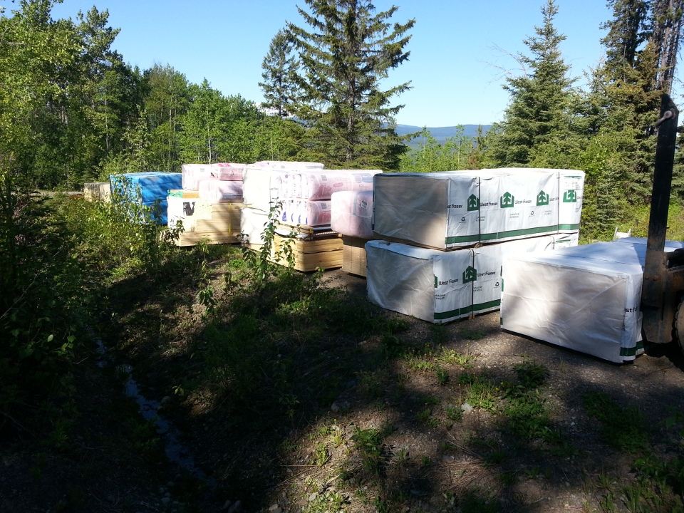 Lumber for Healing Centre Stage 2