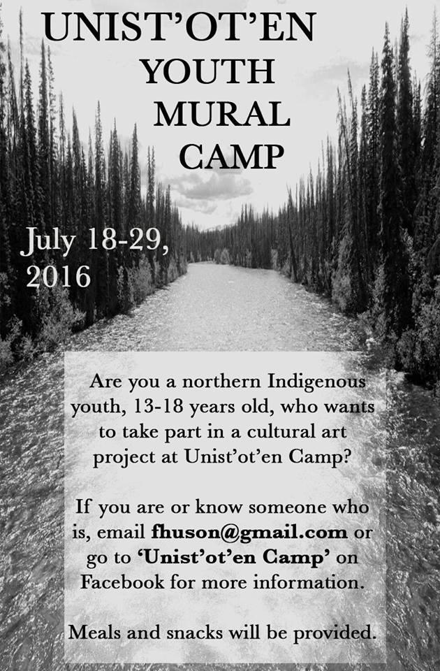 Art Camp poster 2016